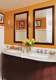 Orange Bathroom Ideas Colors The 25 Best Orange Bathroom Decor Ideas On Pinterest Burnt