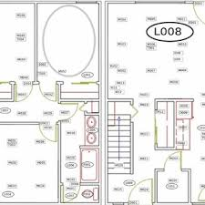 floor l with light sensor figure 3 floor plan for wsu casas student apartment testbed named
