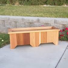 woodcountry cedar planter box u0026 reviews wayfair