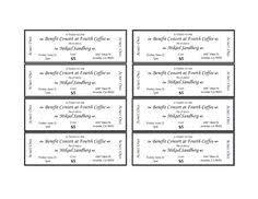 event ticket template printable templates pinterest event