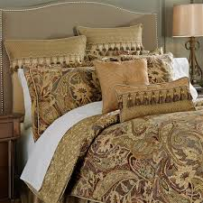Brown And Cream Duvet Covers Comforter Sets Bedspreads Croscill