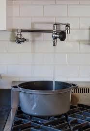 pot filler kitchen faucet domestic dispatches why your kitchen needs a pot filler faucet