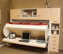 Desk With Bed by Wall Bed More Space Place