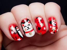 the lacquer legion lucky maneki neko lucky cat nail art