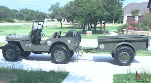 bantam jeep military themed willys jeep and bantam trailer