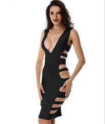 cut out dresses the cutout bandage dress in black vanillahill co uk going