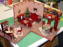 lazy designs miniature quilt room in a box