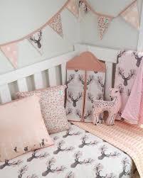 baby deer crib bedding sets baby crib bedding set bumperless 3
