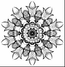 unbelievable zentangle mandalas coloring pages with kaleidoscope