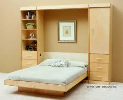 Birch Bedroom Furniture Modern Birch Vertical Wall Bed By Wallbeds