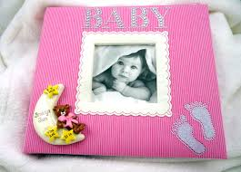 baby photo albums make memories last with personalized baby gifts photo albums