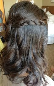 half up half down wedding hairstyles with braids half up half down