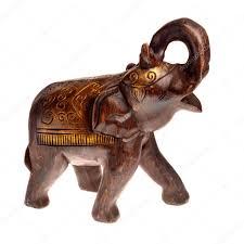 handcraft wooden elephant statue u2014 stock photo lertsnim 7926967