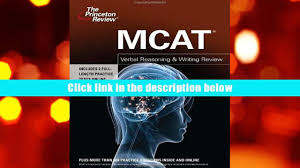free download mcat verbal reasoning writing review graduate