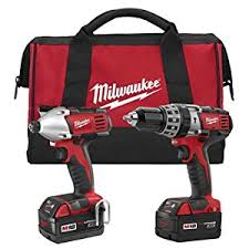 home depot special buy milwaukee light stand black friday milwaukee 2697 22 m18 18 volt 1 2 inch 2 tool combo kit includes