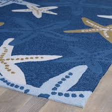 Beachy Rugs Decorating Mesmerizing Unique Underwater Blue Coral And Starfish