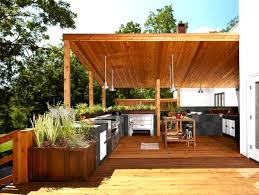 amenager une cuisine exterieure table extérieure extensible inspirant amenager une cuisine