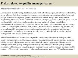 top 5 quality manager cover letter samples