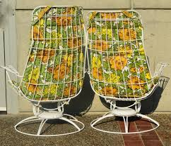 Mesh Patio Furniture Pair Wire Mesh Homecrest Patio Rockers And Otto W Cushions4 L