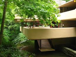 frank lloyd wright house fallingwater puzzle jigsaw wallpapers
