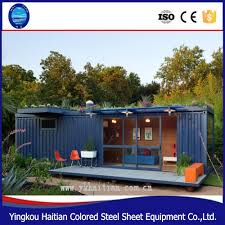 full finished container house 20 feet prefabricated house prebuilt