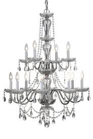 Marie Therese Crystal Chandelier Lovable 12 Light Chandelier Luciana 12 Light 395 Chrome Crystal