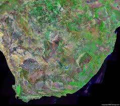 Map Of Southern Africa by South Africa Map And Satellite Image