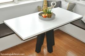 How To Make A Dining Room Table How To Make A Diy Breakfast Or Dining Table House Updated