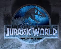 download hd jurassic world 2015 logo wallpaper wallpapersbyte
