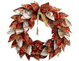 recyclable wrapping paper home dzine craft ideas paper christmas wreath