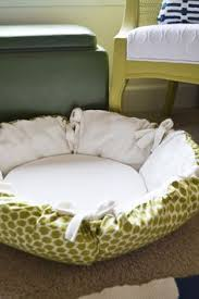Cat Bed Pattern Cat Beds To Make 100 Sew And No Sew Patterns Dogcatpin Com