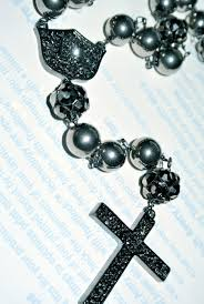 hematite rosary luxury laces worn and endorsed jewelry rosaries and