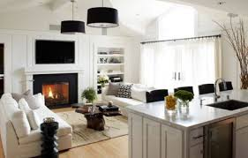 interior design for small living room and kitchen 30 spacious and airy open plan kitchen ideas digsdigs