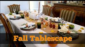 fall tablescape 2017 thanksgiving table decor dollar tree pier