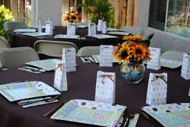 elegant baby shower table setting ideas baby shower table settings