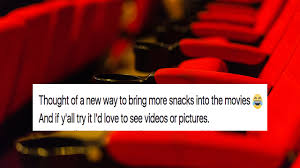 hack storage movie woman u0027s movie theatre hack for sneaking snacks in is damn genius