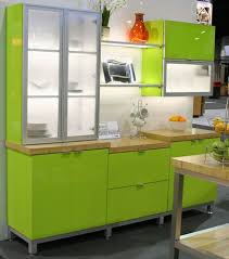 High Gloss Kitchen Cabinets by High Gloss Kitchen Cabinets In Kiwi Green From Element Designs