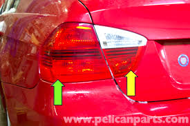 Led Tail Light Bulbs For Trucks by Bmw E90 Rear Light Replacement E91 E92 E93 Pelican Parts Diy