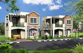30 x 50 west facing villa elevation peninsula prakruthi