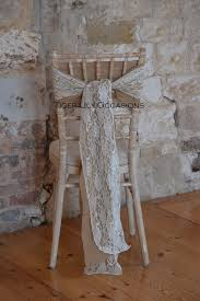 lace chair sashes half price chair cover hire 1 24 for weddings in dorset