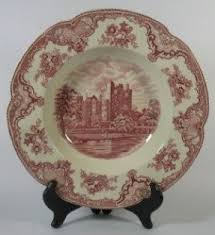 johnson brothers britain castles pink foter