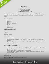 Resume Builder Lifehacker Health Care Aide Resume Cover Letter Free Resume Example And
