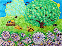 bunnies in the backyard suzanne berton