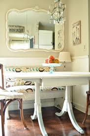 Kitchen Breakfast Nook Furniture by Painted Table And Dip Dye Legs Jennifer Rizzo