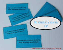 christian icebreaker if questions free printable youth and group