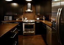 kitchen wall colors with dark cabinets color brown best for 100