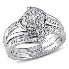 silver wedding ring sets sterling silver bridal jewelry sets shop the best wedding ring