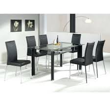 dining table glass dining table and 6 chairs sale contemporary