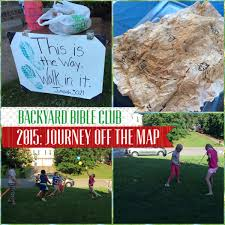 backyard bible club ideas