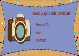 photography gift certificate template photoshop free choice image